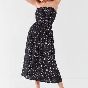 Urban Outfitters Dresses - Noise Jackson Strapless Polka Dot Jumpsuit